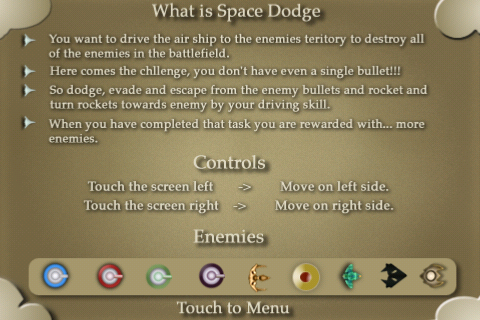 Screenshot Space Dodge