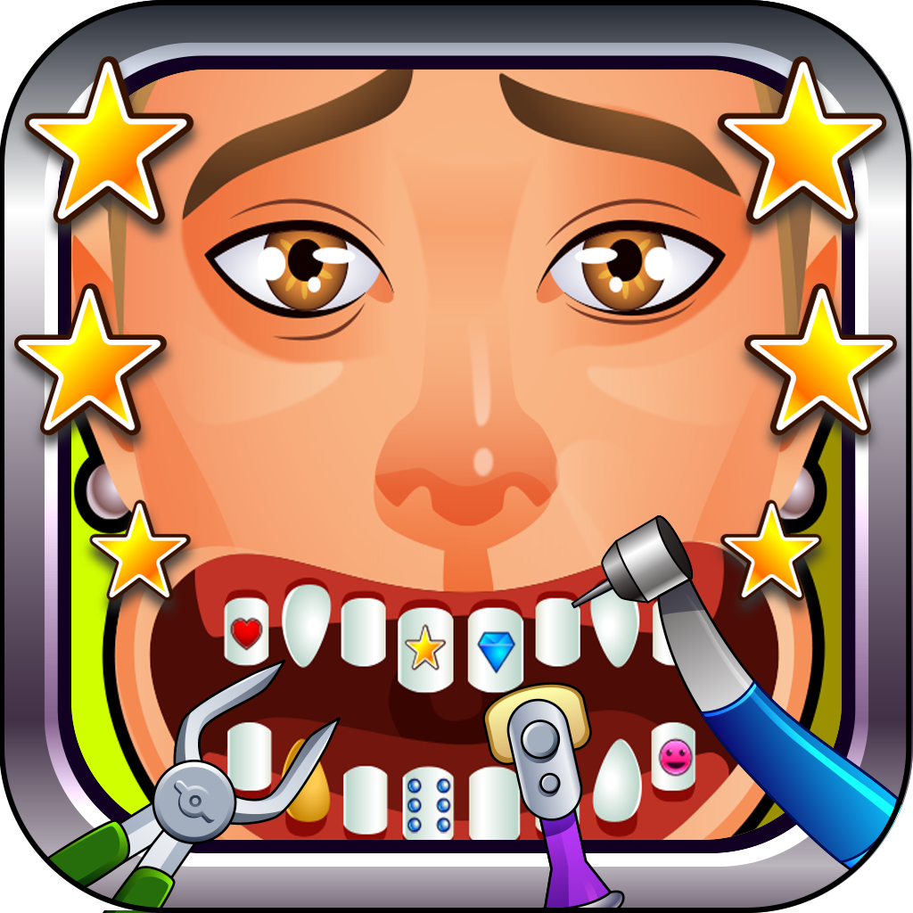 A1 Dentist Free - Fun Superstar Dental Game